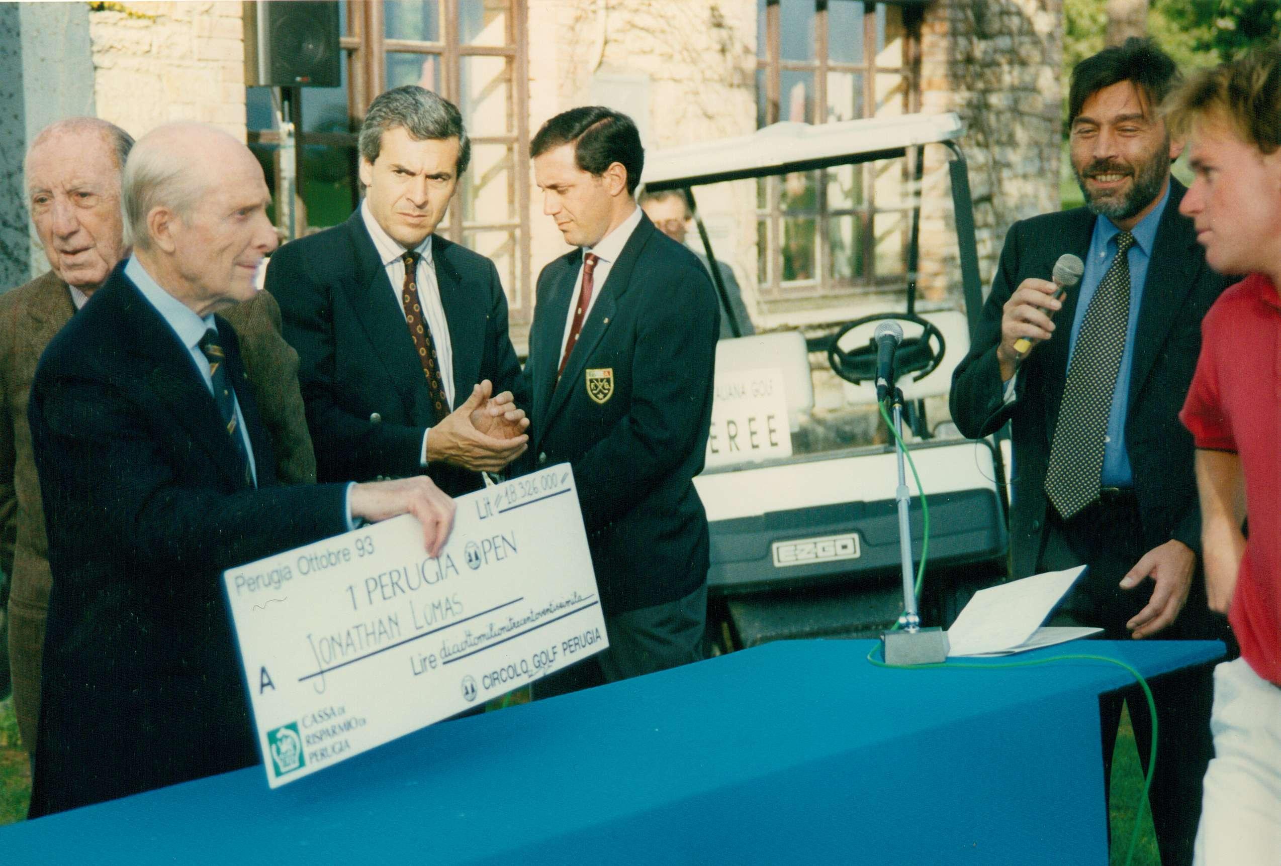 1° Perugia Open Challenge Tour 1993